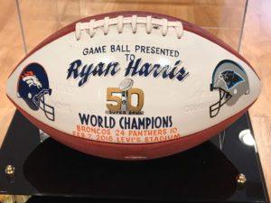 Super Bowl game ball