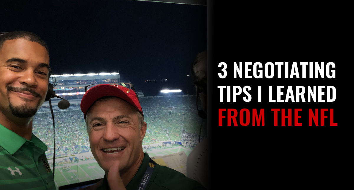 3 Negotiating Tips I Learned from the NFL