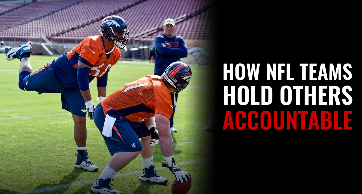How NFL Teams Hold Others Accountable